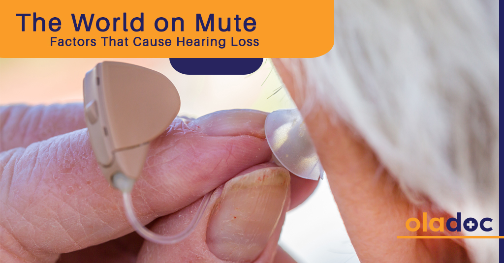 The World On Mute: Factors That Cause Hearing Loss