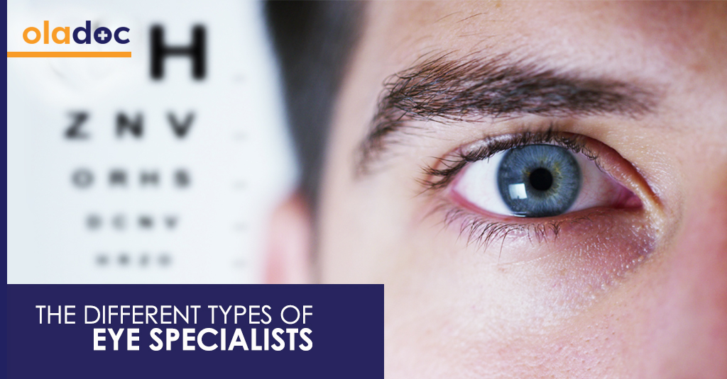 types of eye specialists