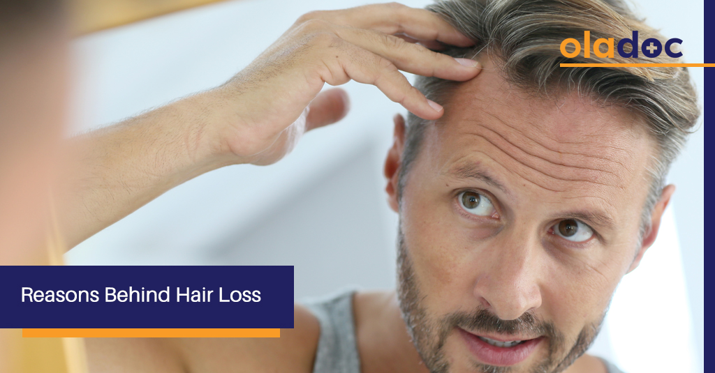 6 Reasons Your Hair Could Be Falling Off!